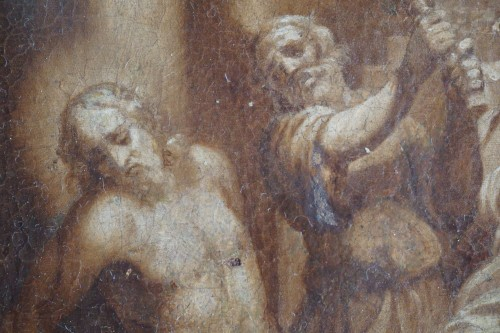 Paintings & Drawings  - Jacopo Negretti - Palma the Younger (1579-1629) The Flagellation of Christ