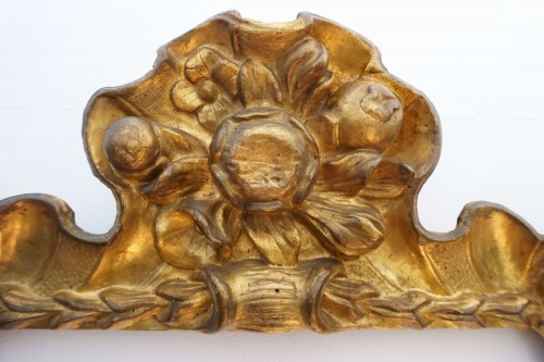 Baroque Frame Carved Golden Wood Italy 17th Century -