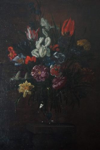 Still Life Flower Jug - Giuseppe Recco (1634-1695) -