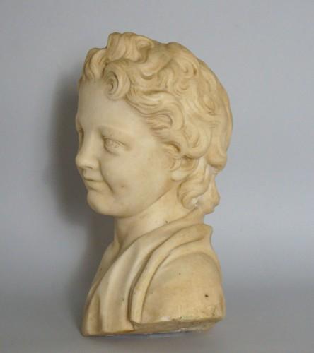 Sculpture  - 17th Century, Italian Baroque Roman Marble Bust
