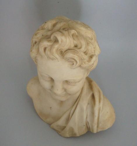 Louis XIV - 17th Century, Italian Baroque Roman Marble Bust