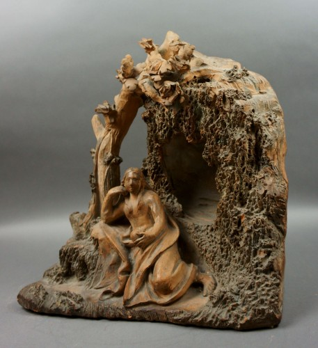 17th century - Penitent Magdalene 17th century Terracotta