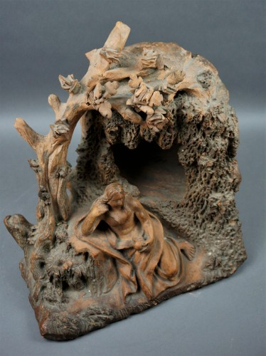 Louis XIV - Penitent Magdalene 17th century Terracotta