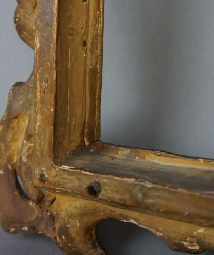 Venetian Sansovino Carved And Gilded Wood Frame 18th - Louis XV