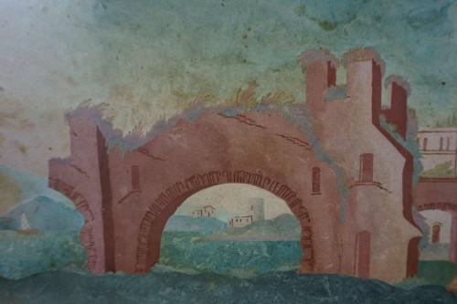 Antiquités - 18th century Pair 0f Scagliola Panels
