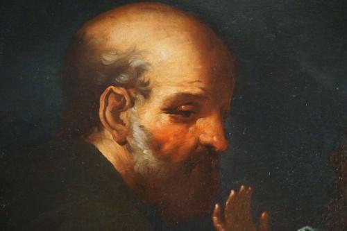 Antiquités - Giovanni Andrea de Ferrari (Genoa, 1598-1669) - The Holy Family