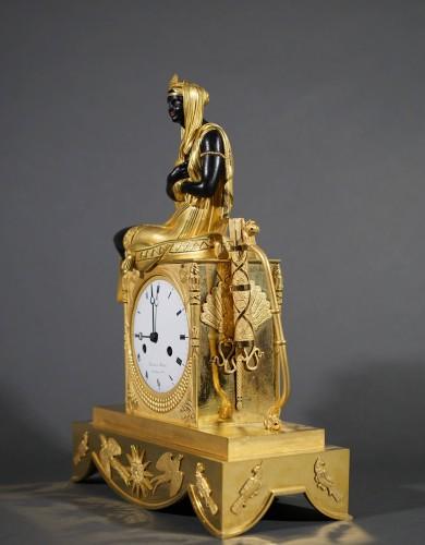 Empire Blackamoor Mantel Clock - Empire