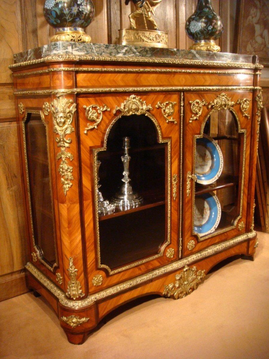 meuble vitrine hauteur dappui poque napolon iii napolon