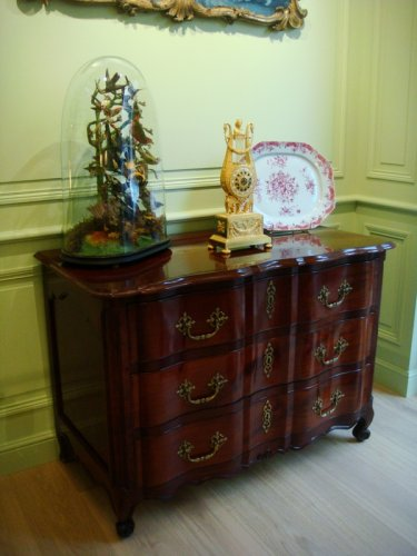 Commode de Port en acajou d'époque Louis XV - Antiquaires Balzeau & Brion
