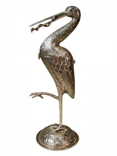 Stork box in sterling silver Netherlands