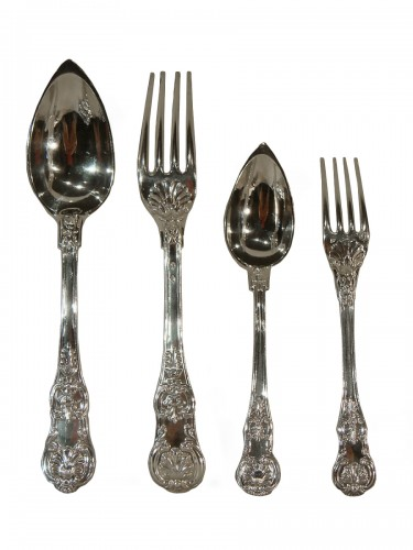 French Cutlery set in solid silver