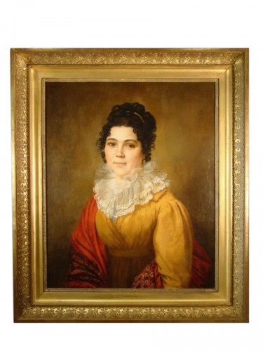 Portrait of Woman - Couvelet (1772 - 1832)