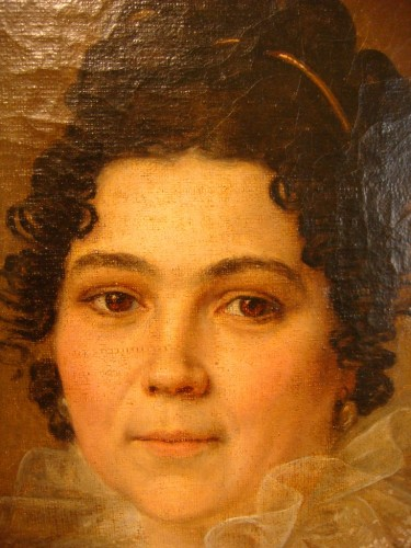 Portrait of Woman - Couvelet (1772 - 1832) - Paintings & Drawings Style