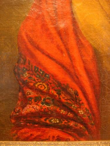 19th century - Portrait of Woman - Couvelet (1772 - 1832)