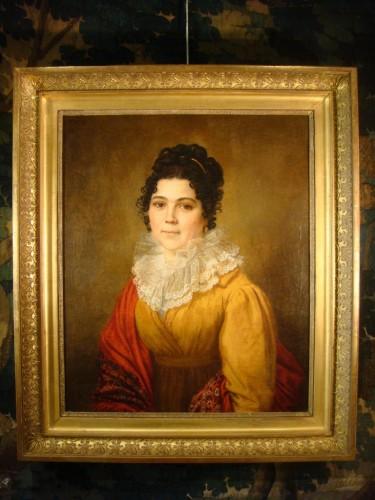 Portrait of Woman - Couvelet (1772 - 1832) -