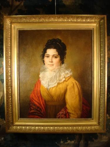 - Portrait of Woman - Couvelet (1772 - 1832)
