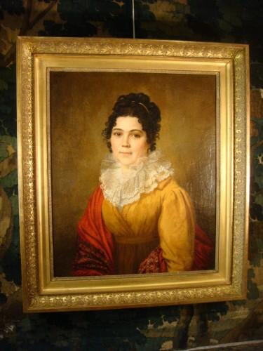 Antiquités - Portrait of Woman - Couvelet (1772 - 1832)