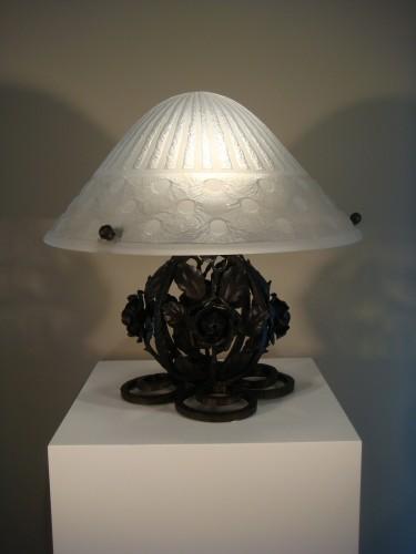 Lighting  - Mushroom lamp - Daum Nancy circa 1930