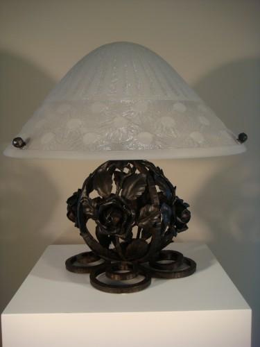 20th century - Mushroom lamp - Daum Nancy circa 1930