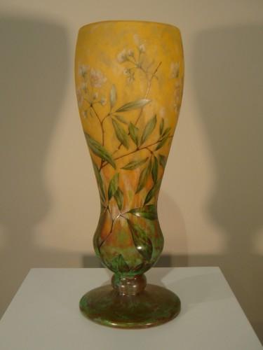 Glass & Crystal  - Daum  - Vase in glass paste, Jasmine Decor