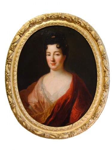 Quality Woman Portrait - French School of the 18th Century
