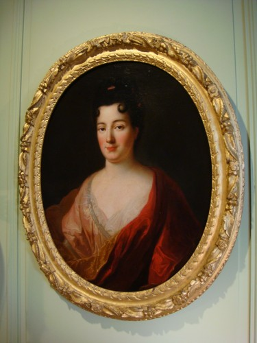 Quality Woman Portrait - French School of the 18th Century - Paintings & Drawings Style Louis XV