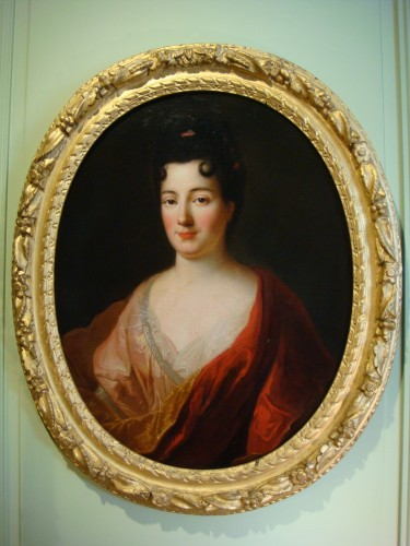 Quality Woman Portrait - French School of the 18th Century -