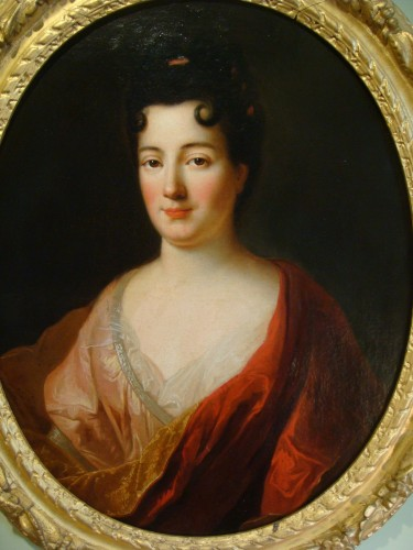 18th century - Quality Woman Portrait - French School of the 18th Century