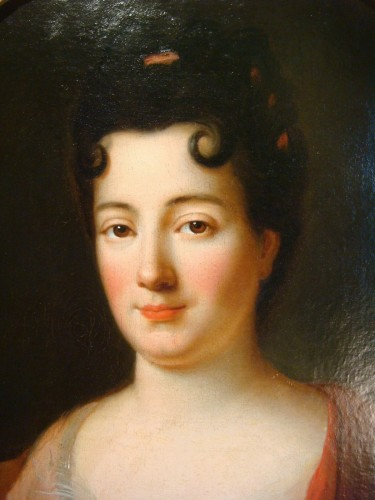 Quality Woman Portrait - French School of the 18th Century - Louis XV