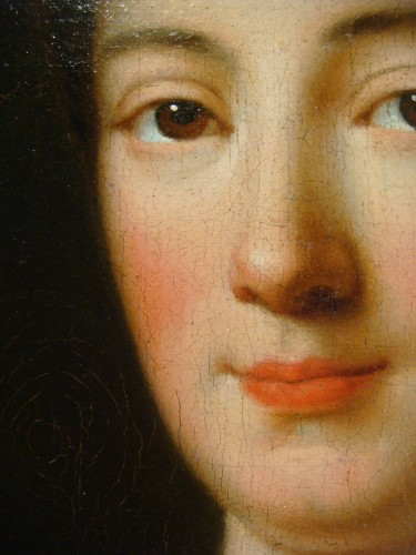 Antiquités - Quality Woman Portrait - French School of the 18th Century