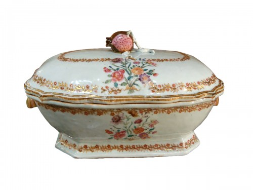 Porcelain terrine from the Compagnie des Indes - 18th century