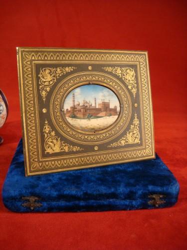 Objects of Vertu  - Miniature representing Jama Masjid in Delhi