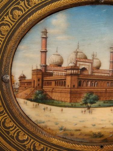 - Miniature representing Jama Masjid in Delhi