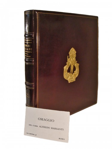 Large book on Italian bronzes - Barsanti