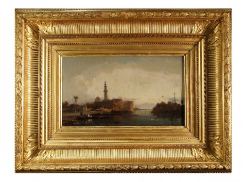 View of Constantinople - Henri Duvieux (1855 – 1902)
