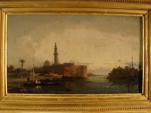 View of Constantinople - Henri Duvieux (1855 – 1902) - Napoléon III