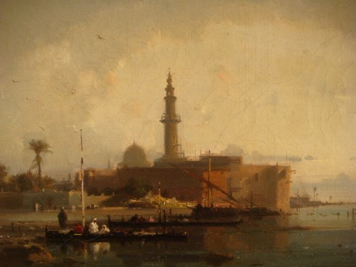 Napoléon III - View of Constantinople - Henri Duvieux (1855 – 1902)