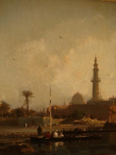 Antiquités - View of Constantinople - Henri Duvieux (1855 – 1902)