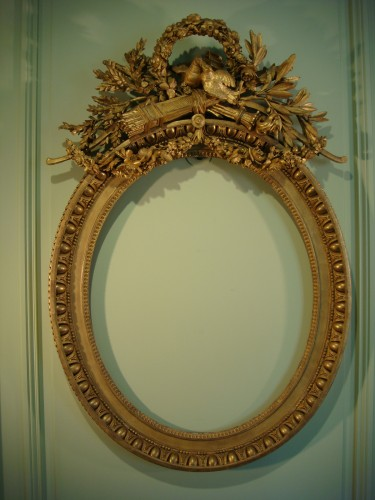 Claude Infroit - Gilded wood frame from the Louis XVI period - Decorative Objects Style Louis XVI