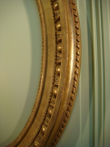 Claude Infroit - Gilded wood frame from the Louis XVI period - Louis XVI