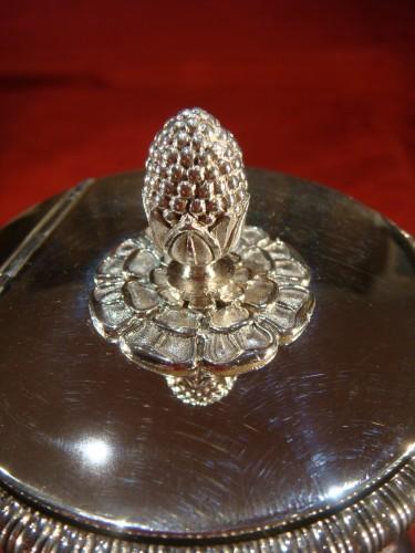 19th century - Goldsmith Bompart - Large silver coffee pot