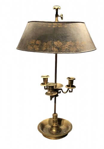 A 'lampe bouillotte ' Period last decade of the 18th century