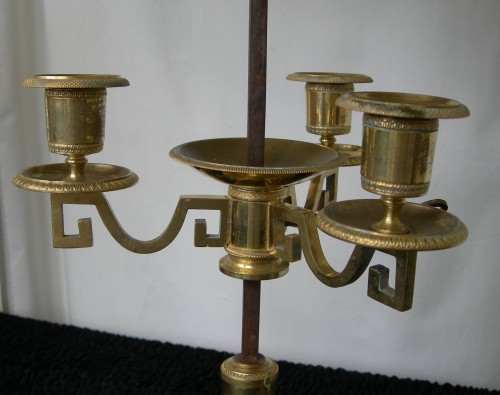 Lighting  - A 'lampe bouillotte ' Period last decade of the 18th century