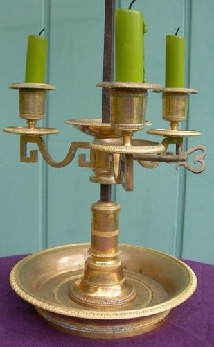 18th century - A 'lampe bouillotte ' Period last decade of the 18th century