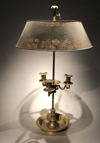Antiquités - A 'lampe bouillotte ' Period last decade of the 18th century