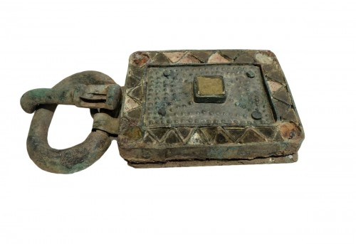 Visigothic bronze belt buckle