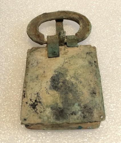 Visigothic bronze belt buckle -
