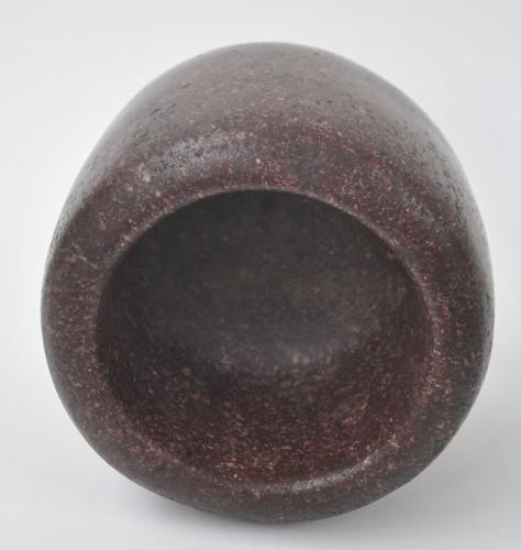 Period Roman Egyptian Porphyry Mortar -