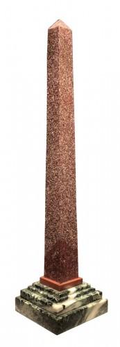 Egyptian Porhyry Obelisk circa 1780