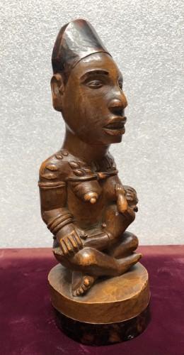 Tribal Art  - A fine Yombe maternity figure DRC